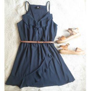 Kohl's- Juniors Navy Dress